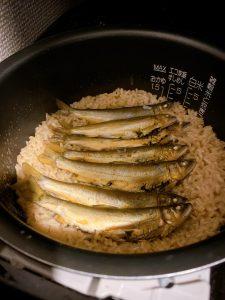 鮎飯の作り方。